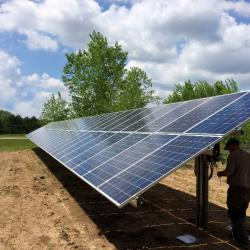SunPeak solar PV system at Culligan Total Water Treatment Systems, Inc